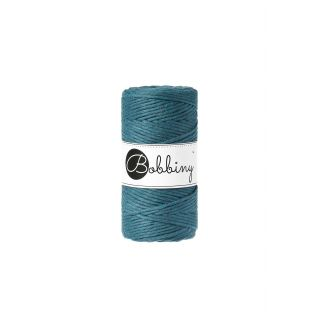 Bobbiny Macrame 3 mm - Peacock Blue
