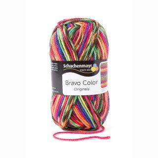 Schachenmayr Bravo Color 2085 - Rainbow Jacquard