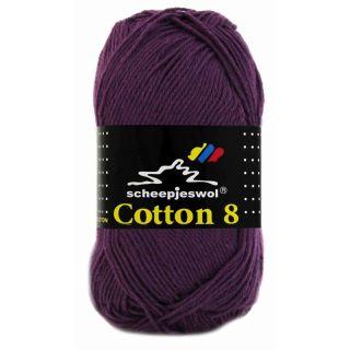 Scheepjeswol Cotton 8 paars 661