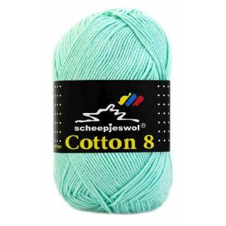 Scheepjeswol Cotton 8 mintgroen 663