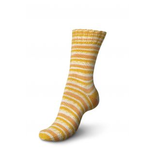 Regia sokkenwol Tutti Frutti katoen - sinaasappel 2416