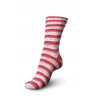 Regia sokkenwol Tutti Frutti katoen - aardbei 2420