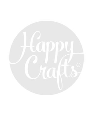 Borduurpakket Happy Friends Geboortetreintje - Permin